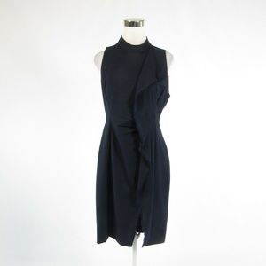 Rachel Roy blue sleeveless sheath dress 8